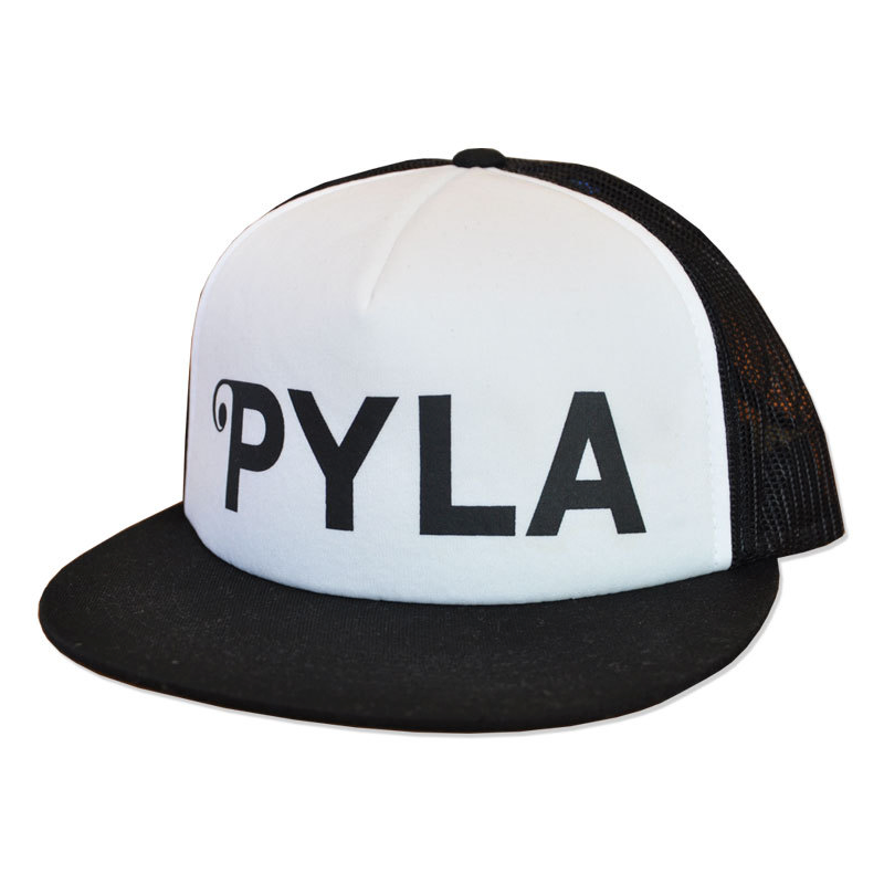 d11a360facb PYLA TRUCKER HAT BLACK